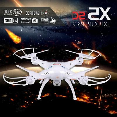 Syma 2.4Ghz RC Quadcopter Drone UAV RTF with HD Camera