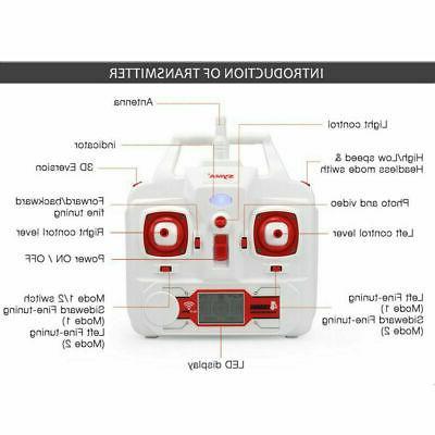 Syma X8W 2.4Ghz 4CH RC Quadcopter