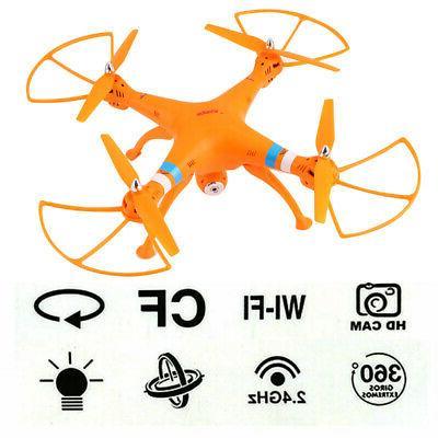Syma X8W 2.4Ghz 4CH Quadcopter Drone RTF