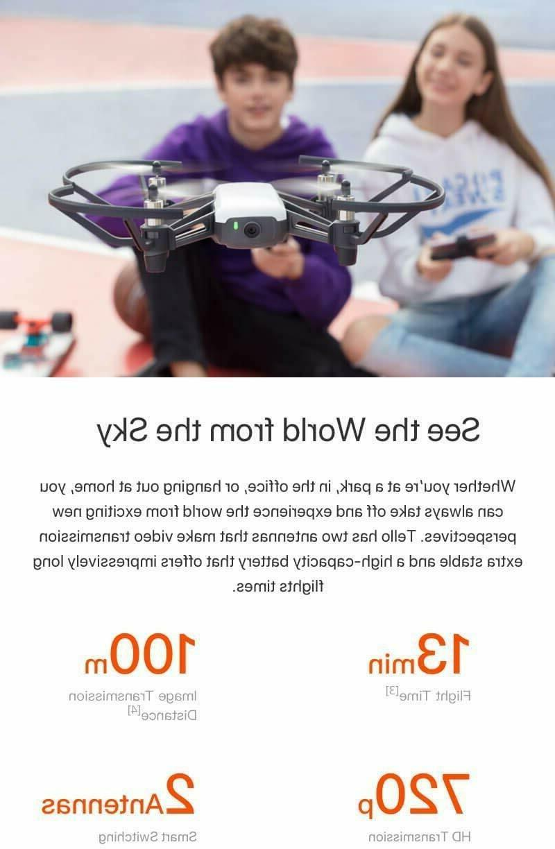 Tello Quadcopter HD DJI, RYZE New! Sealed!