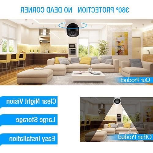 TENVIS HD - IP Vision Camera, 2.4GHz & 720P Baby Camera Camera Card
