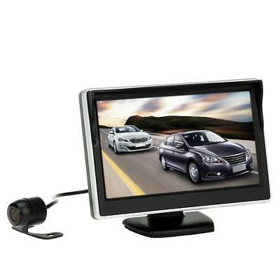 "5"" TFT LCD Car Reverse Monitor Display Backup System HD Rear"