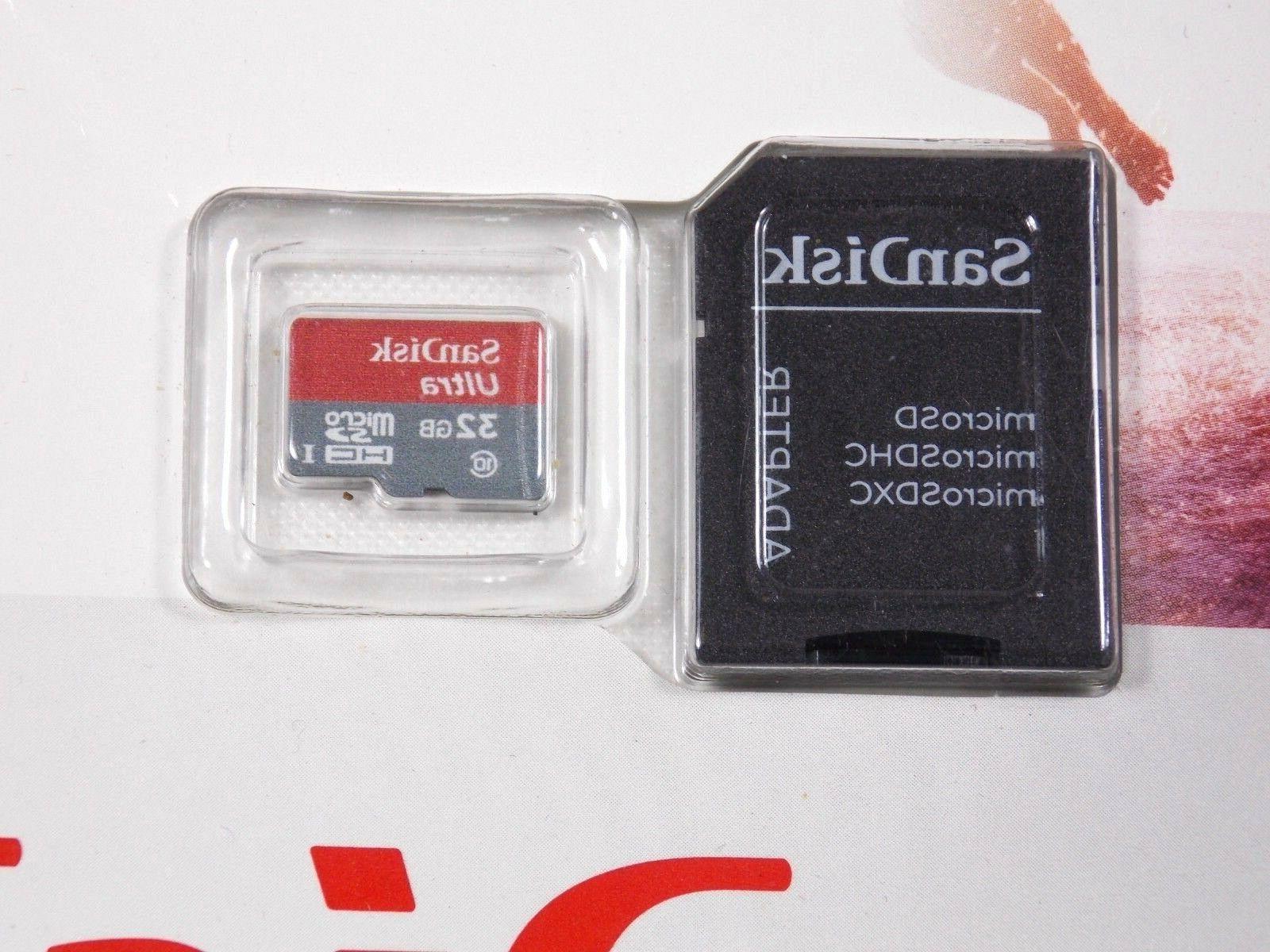 SANDISK ULTRA 32GB SD UHS-I 2 SEALED