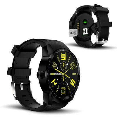 brand new android smartwatch heart rate pedometer