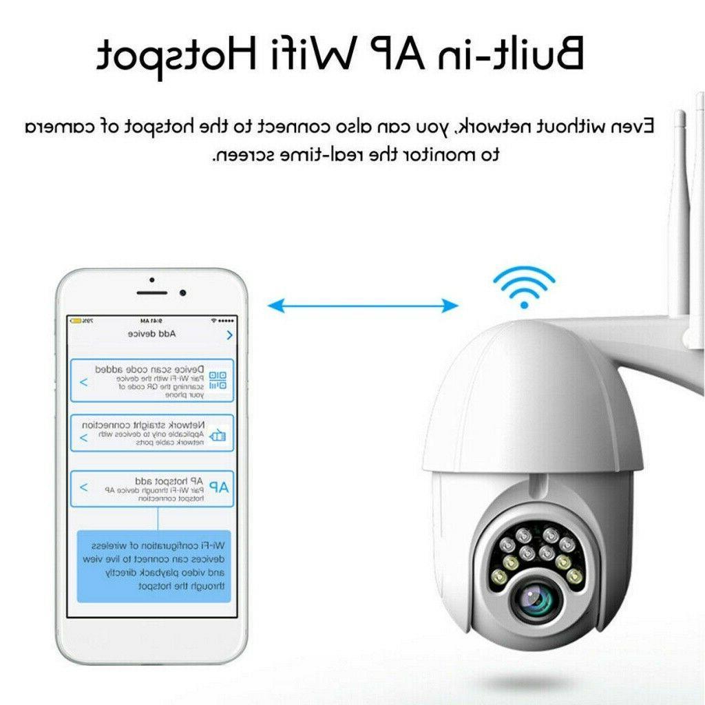US IP CCTV Wi-Fi IR