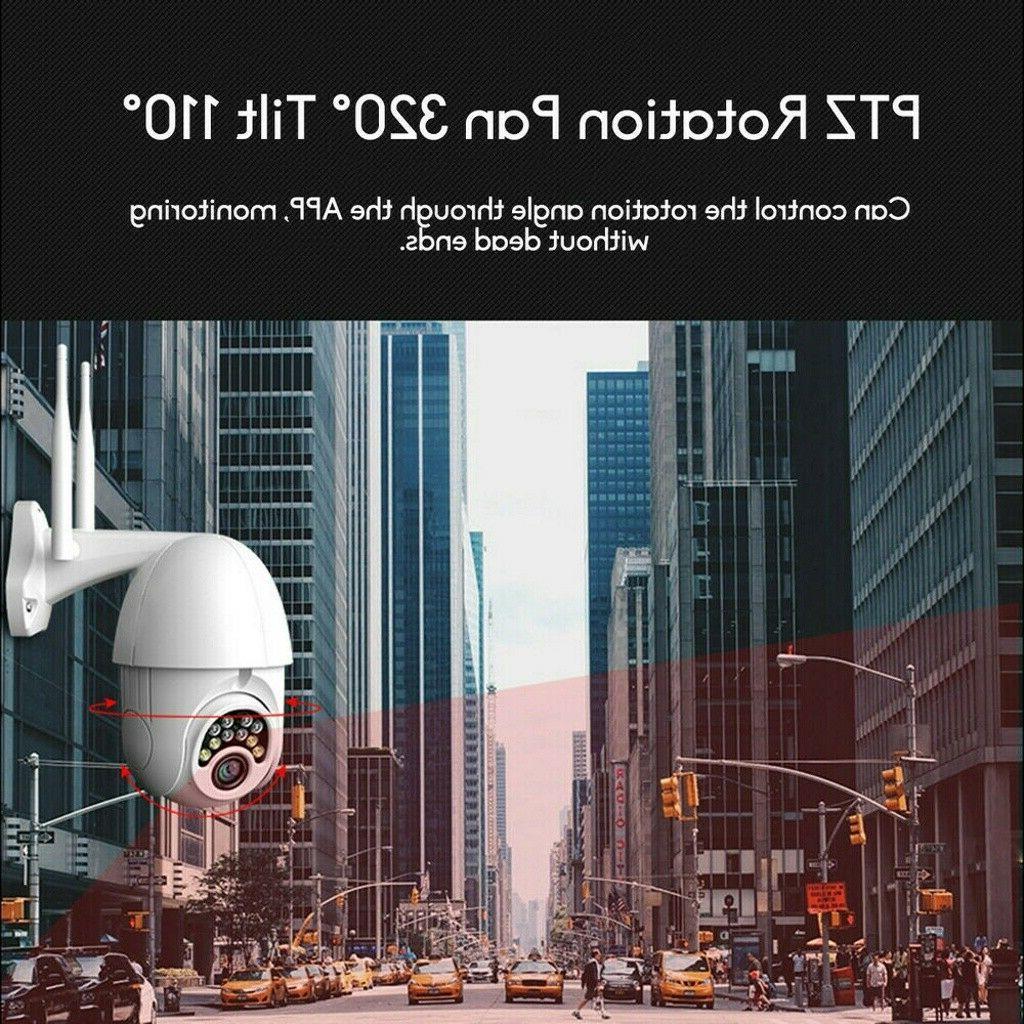 US CCTV Wi-Fi Security IR Cam