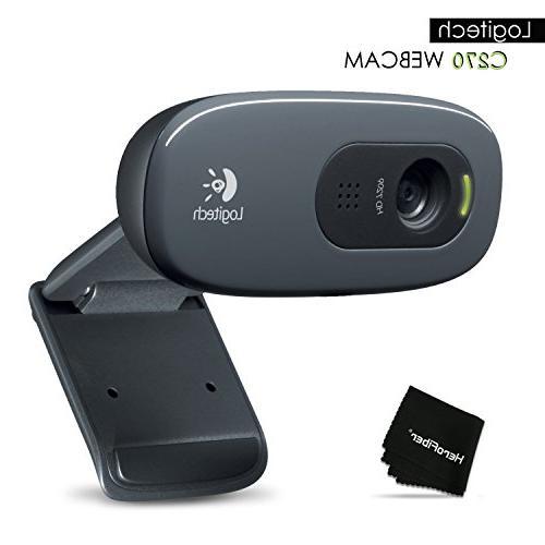 Logitech 3MP US 2.0 HD Webcam C270