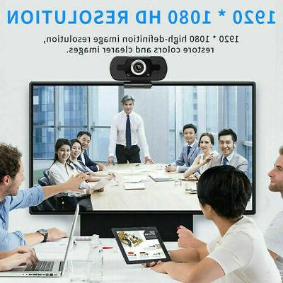 USA 1080P Full USB Webcam w/ Microphone PC & Gifts