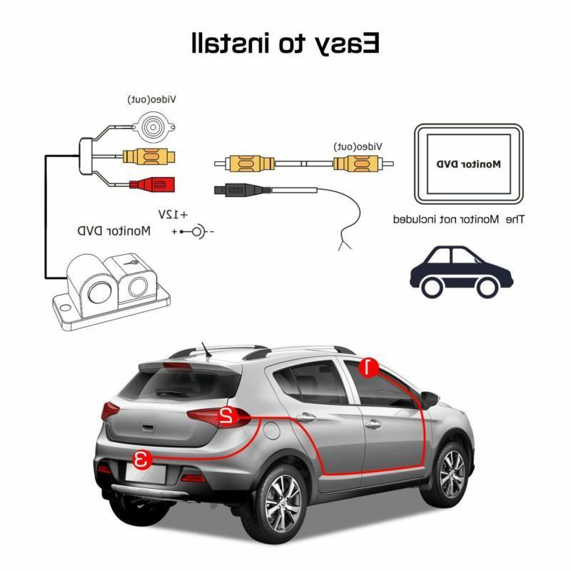 Vehicle Degree HD Waterproof Car
