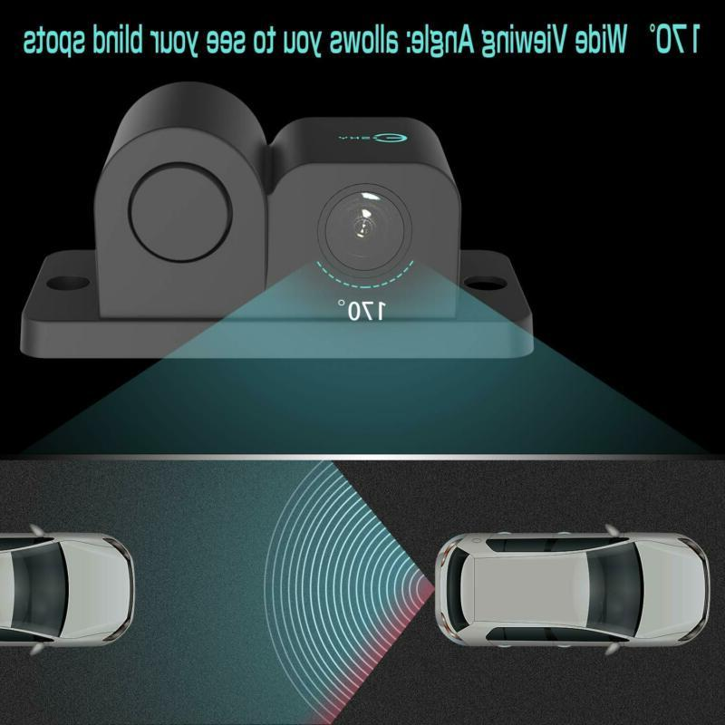 Vehicle Degree Viewing Angle Waterproof Car Rear View