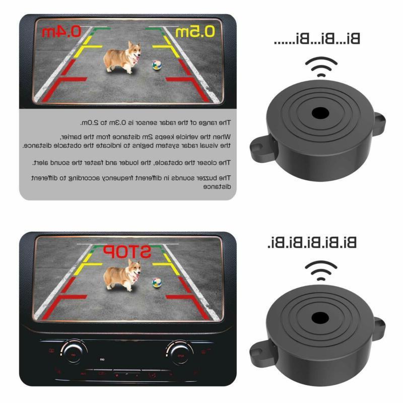 Vehicle Backup Cameras Degree Viewing Angle HD Waterproof Car