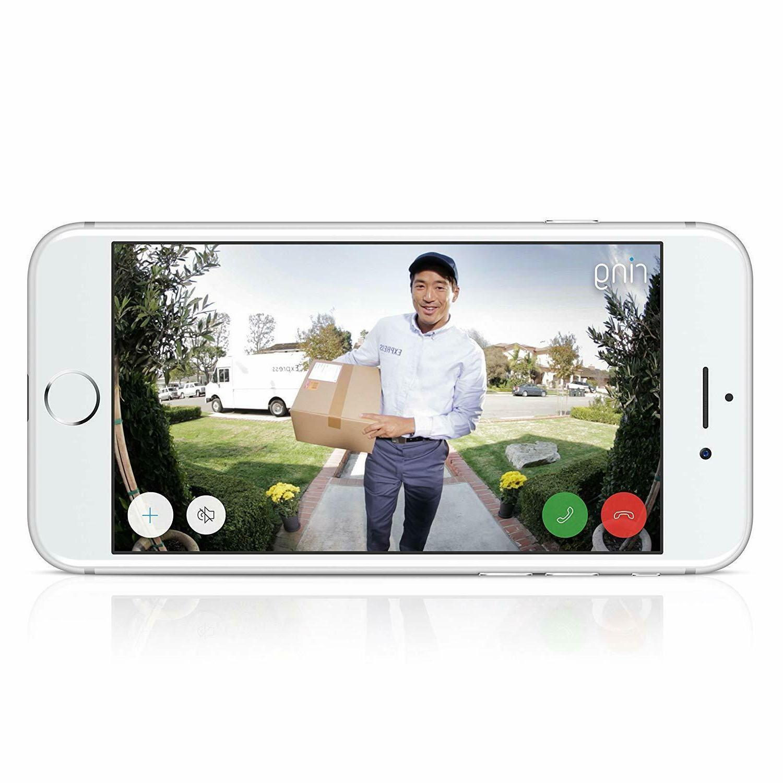 Ring Video Doorbell 2nd Gen HD Camera Amazon Alexa Nickel