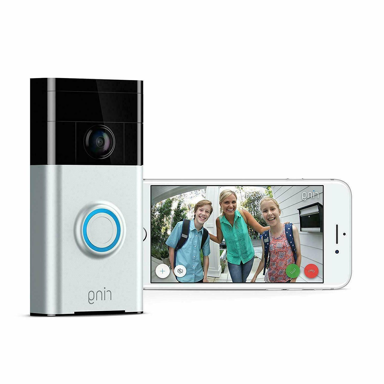 video doorbell wi fi enabled hd camera