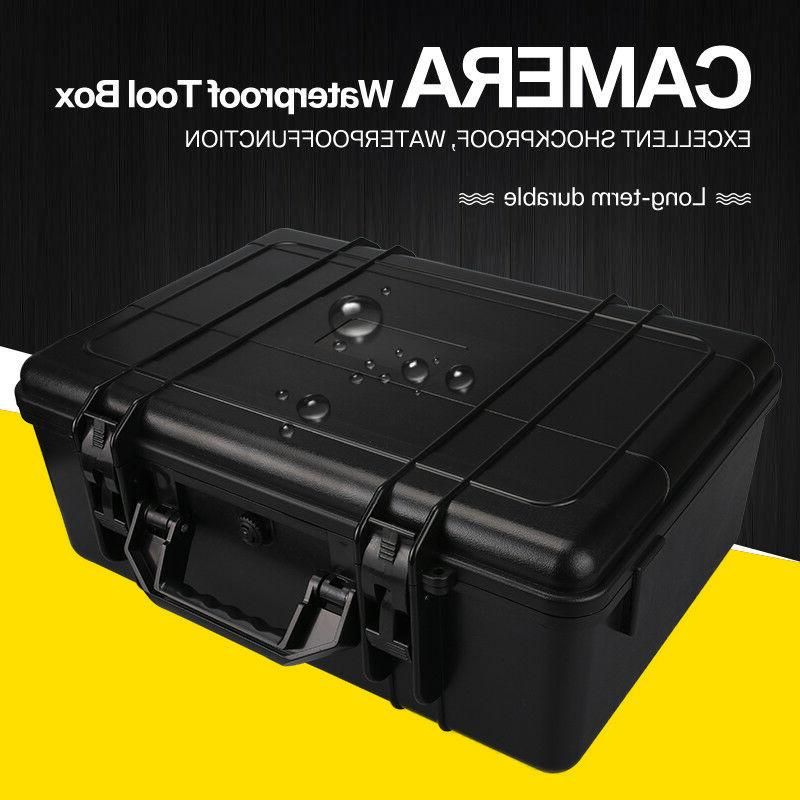 waterproof large storage carry hard box case