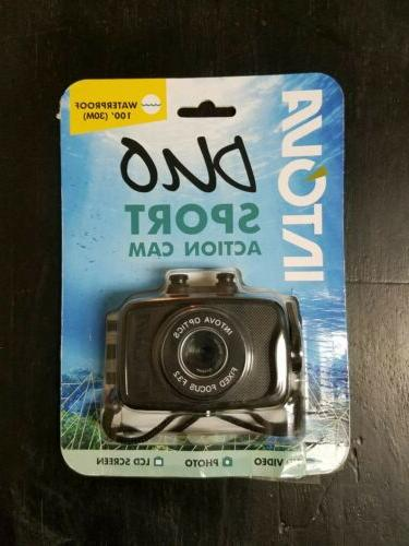 Intova Duo Waterproof HD POV Sports Video Camera, Black
