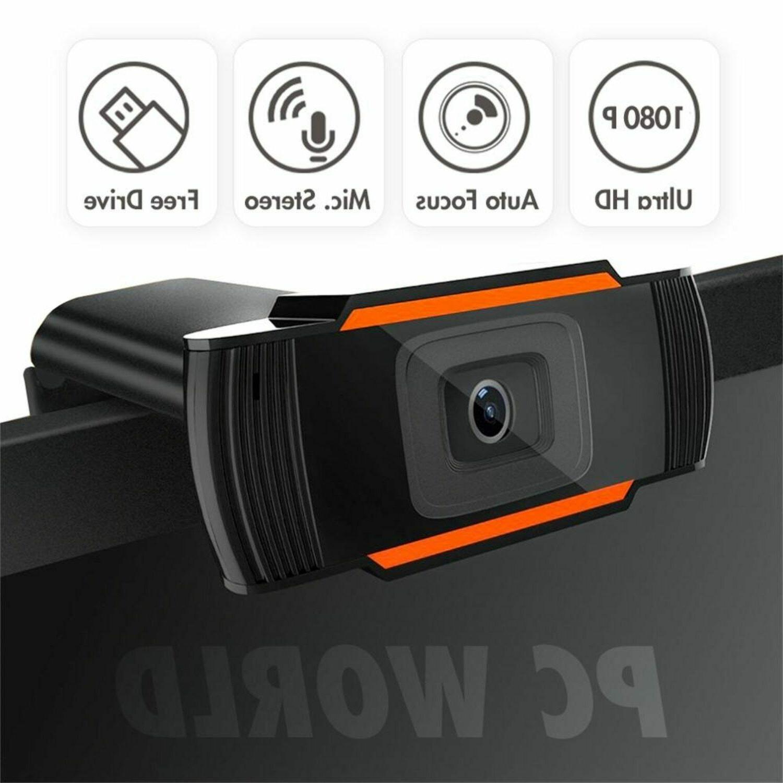 Webcam 1080P HD Camera USB MicroFone PC Computer TV Youtube Gamer