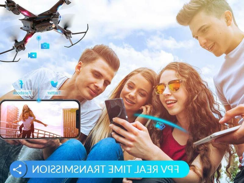 Snaptain S5C Drone With Camera, Voice Control