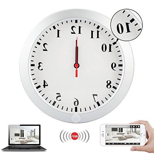 wifi mini wall clock