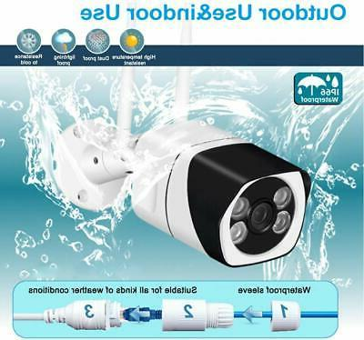 WiFi Wireless 1080P Security IP Outdoor Home