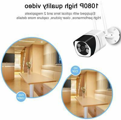 WiFi 1080P Security IP Camera CCTV Outdoor Surveillance Cameras