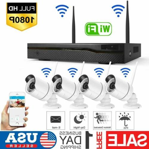 wireless 4ch 1080p nvr outdoor indoor wifi