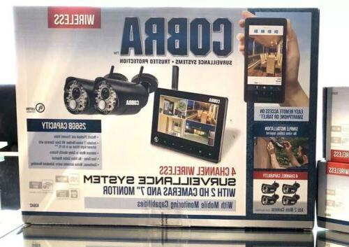 💥Wireless Monitor 4 Ch HD Cobra Indoor💥