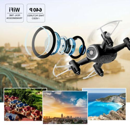 Syma X22W RC Quadcopter Drone with Wifi Explorers 2.4Ghz 4CH Gyro
