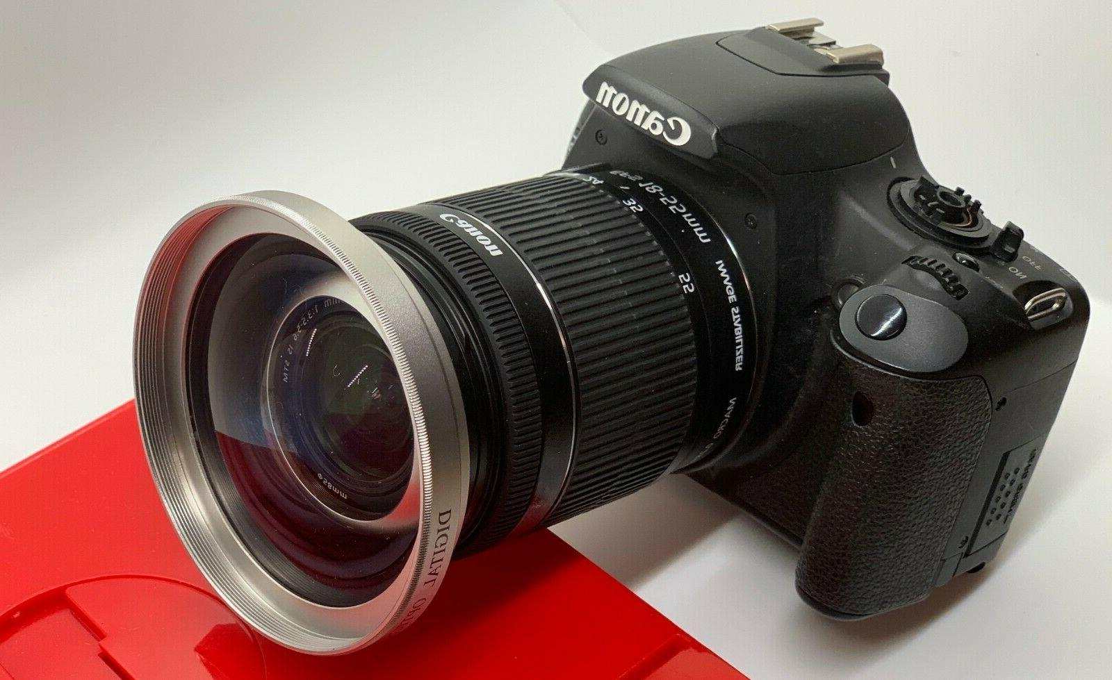 X40 210°HD WIDE ANGLE LENS FOR CANON CAMERAS