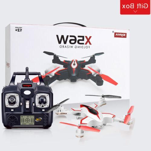 Syma RC WIFI HD FPV X56 4CH Pocket Drone Quadcopter