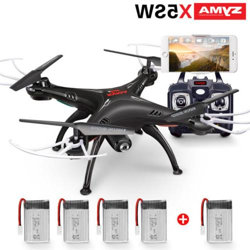 Syma X5SW 2.4Ghz 6-Axis Gyro RC Quadcopter Drone with Wifi C