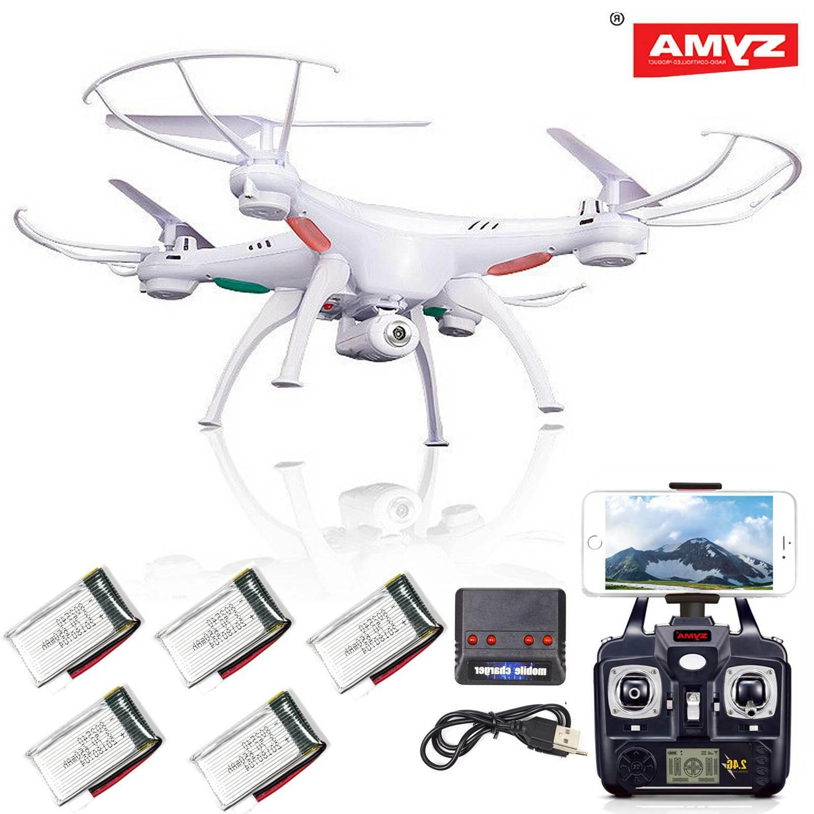 Syma X5SW-V3 FPV Explorer 2.4G RC Headless Quadcopter Drone