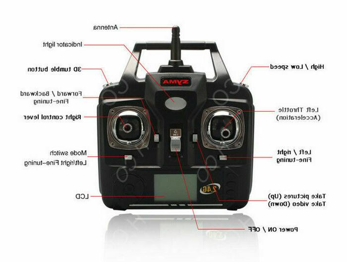 Syma FPV Explorers 2.4Ghz Quadcopter HD Camera.