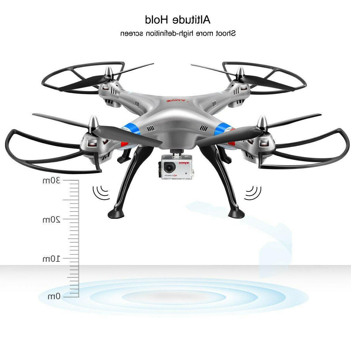Syma Drone, 4CH Gyro Quadcopter Camera RTF