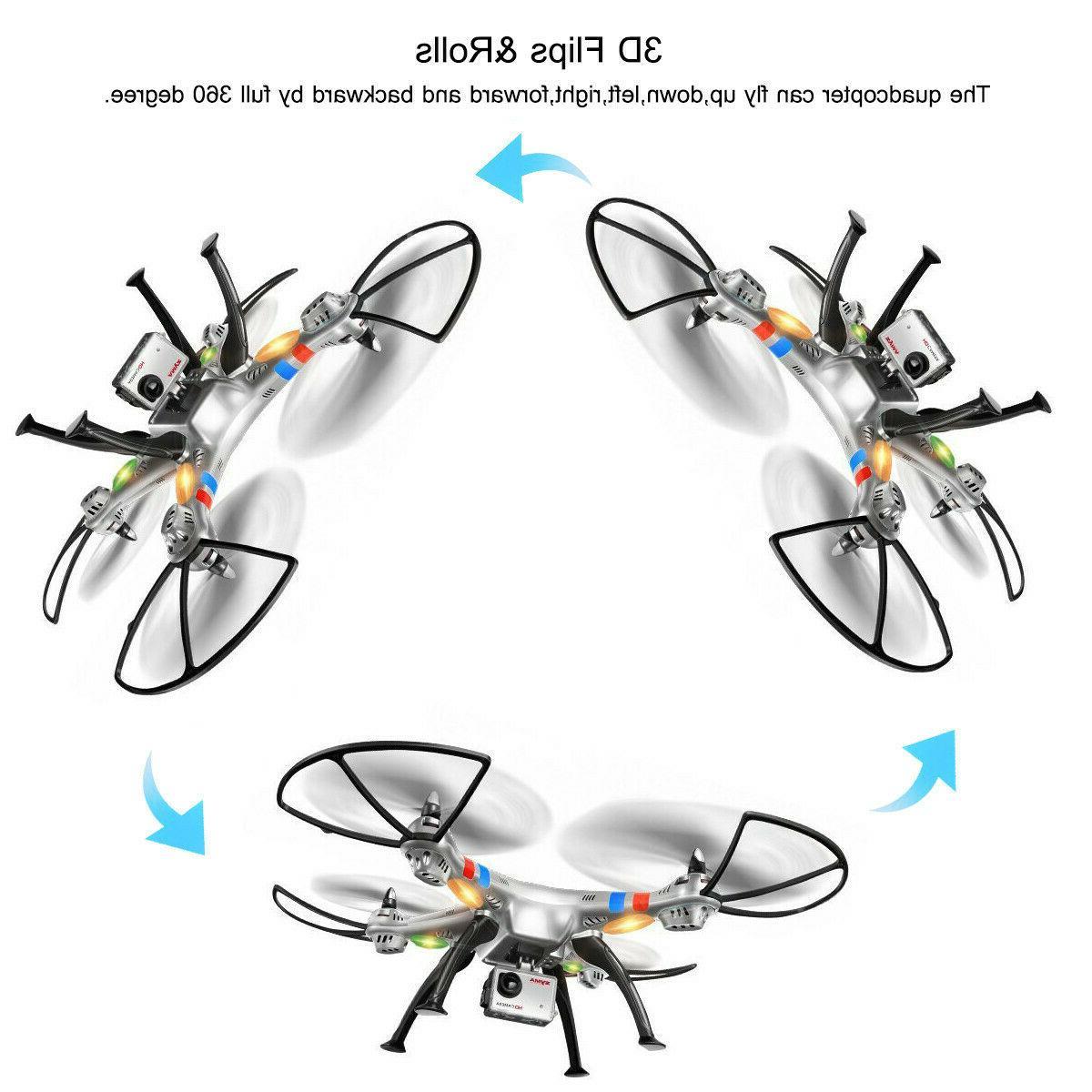 Syma Drone, 4CH 6-Axis Quadcopter w/