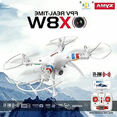 SYMA Real-Time Wifi Camera Drone 6-Axis RC Quadcopter Roll