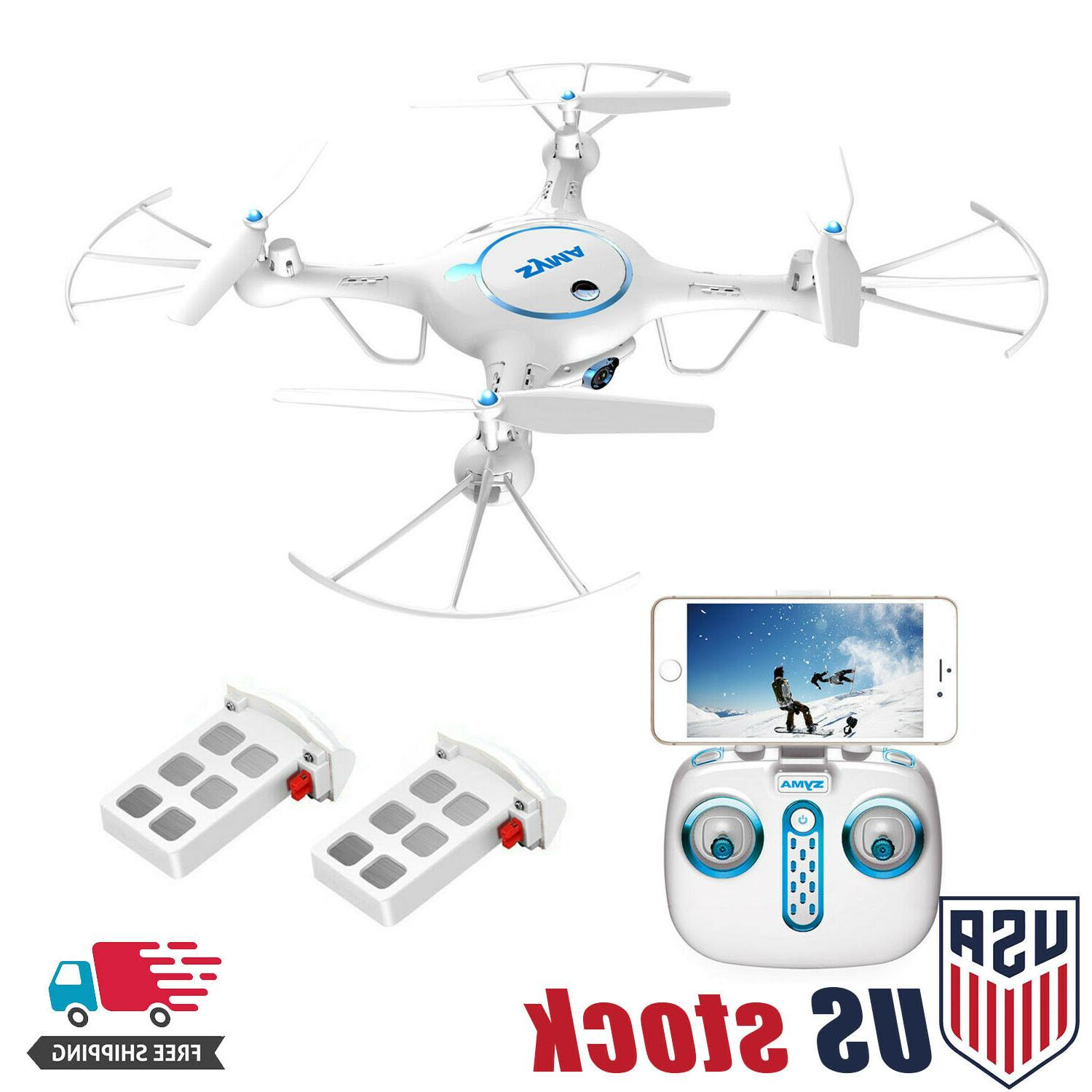 Syma X5UW Wifi FPV Drone with 720P HD Camera 2.4Ghz RC Quadc