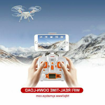 SYMA X8W FPV Wifi Camera Drone RC Quadcopter Headless Roll