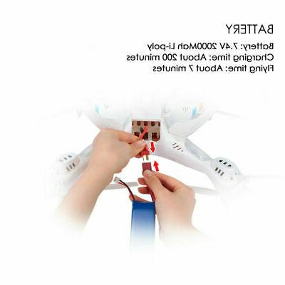 SYMA X8W Real-Time Wifi RC Quadcopter Roll