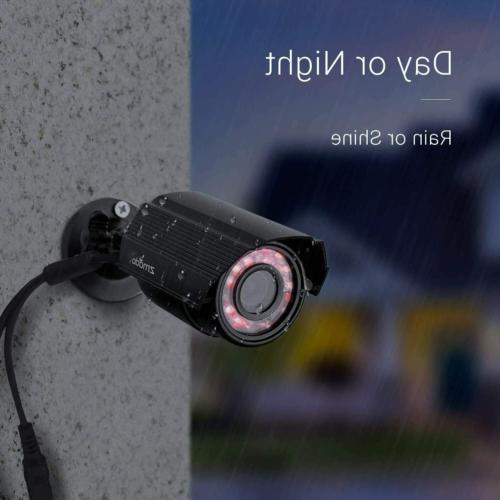 Zmodo 4-Pack Analog 700TVL Cameras