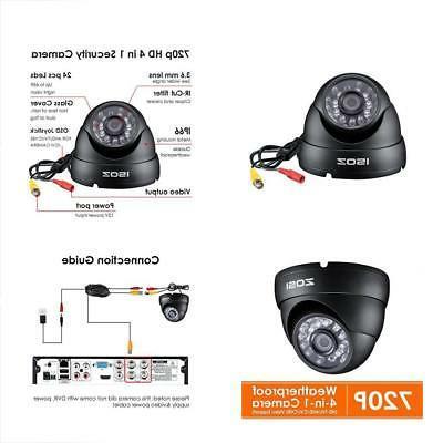 zosi 1000tvl surveillance security camera day night vision l