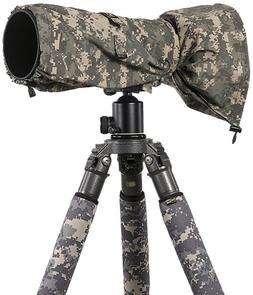 LensCoat LCRSLDC RainCoat RS for Camera and Lens, Large