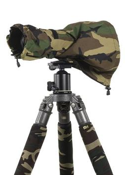 LensCoat LCRSMFG RainCoat RS for Camera and Lens, Medium