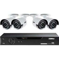 Lorex LHV51082T4K 4 Cameras 8 Channel 4K HD Security System