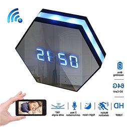 Magho 1080p Wifi Spy Clock Camera with 6Ir Night Vision,4500