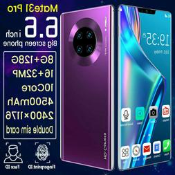 "Mate 31 Pro 6.6 ""8 128g unlocked smartphone full HD mobile d"