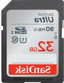 Memory Card 32GB Ultra SDHC UHSI Memory Card  90MB/s   Full