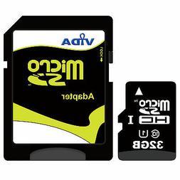 New Vida IT 32GB Micro SD SDHC Memory Card For Muvi VCC 005