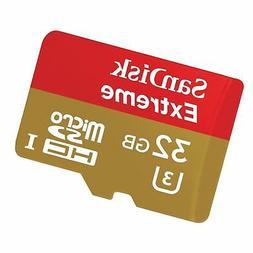 SanDisk Extreme 32GB microSDHC UHS-3 Card - SDSQXAF-032G-GN6