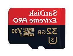 Sandisk MicroSDHC V30 32GB Extreme Pro - SI-PH5H-RB1J