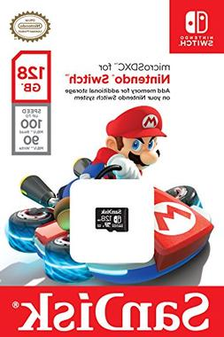 SanDisk 128GB microSDXC UHS-I card for Nintendo Switch - SD